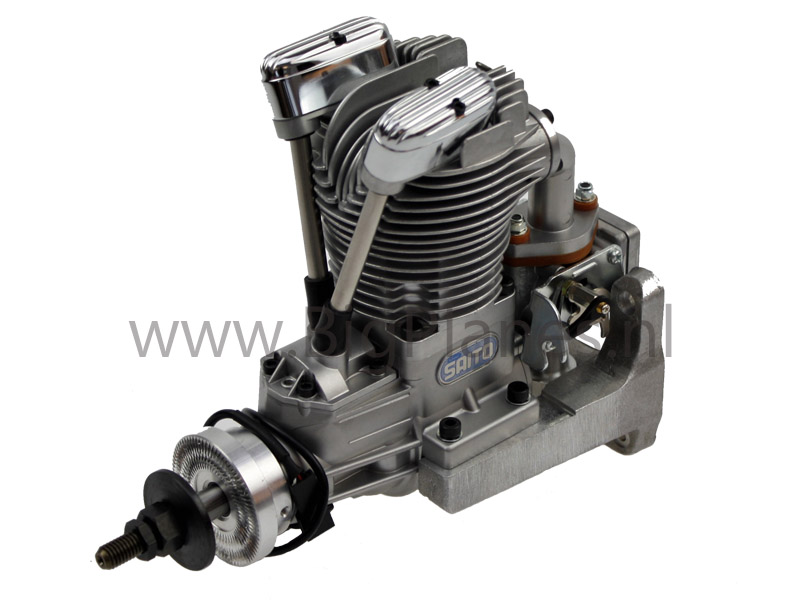 L Saito Fg Stroke Gas Engine on 4 Cycle Rc Engines